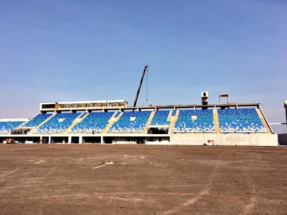 San Nicolás avanza con la construcción de su Estadio Único que sería inaugurado en octubre
