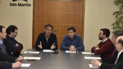 """El intendente de San Martín muy preocupado """"conformamos una mesa de dialogo social para afrontar los peores cuatro meses de los últimos años"""""""