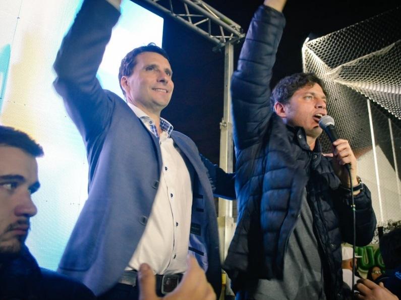 Franco Laporta y Axel Kicillof