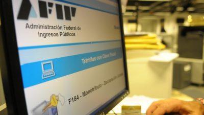 AFIP suspende hasta Marzo de 2020 la exclusión sistemática de oficio del monotributo
