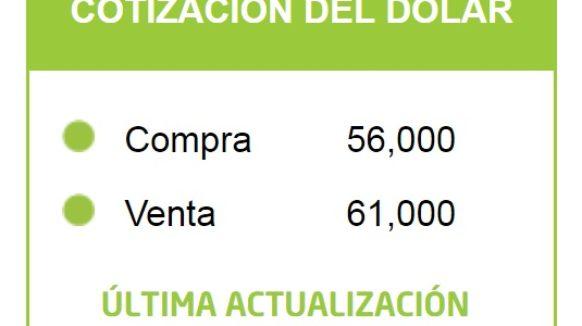 En Banco Provincia abrió el dólar a 61 pesos y la situación es preocupante