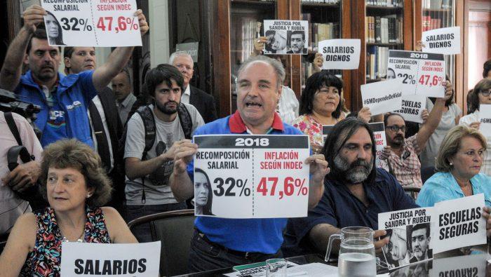 """""""A Bonari lo conocí y puedo decir que es más gorila que Lacunza"""", disparó Miguel Díaz de UDOCBA"""