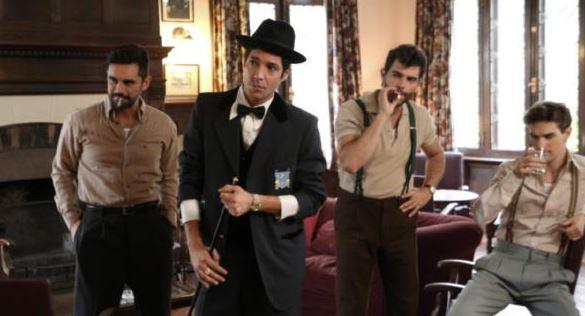 Julián Kartún, en su papel actoral dentro de la serie Argentina: Tierra de Amor y Venganza