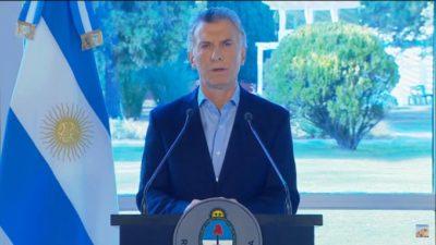 """Macri pegó un volantazo en su estrategia electoral y anunció un """"paquete de medidas de alivio"""""""
