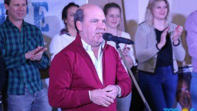 """Coronel Suárez: """"Hace dos semanas comenzó a verse un gran entusiasmo por sacar a este gobierno"""", dijo Ricardo Moccero"""