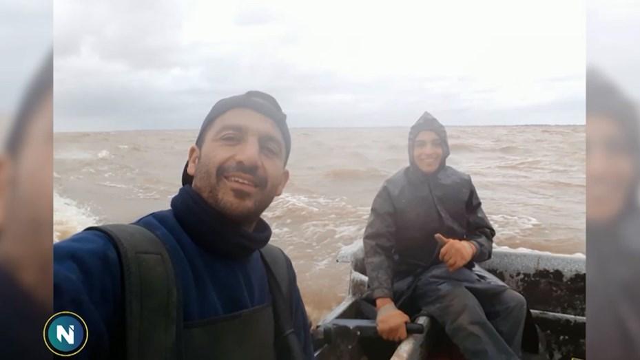 Encontraron el cuerpo del segundo pescador desaparecido en el Río de La Plata