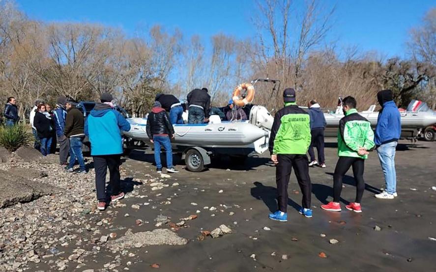 Encontraron el cuerpo de uno de los pescadores desaparecidos en Punta Lara