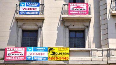 Las ventas del sector inmobiliario en la provincia de Buenos Aires cayeron un 28,6% en relación a julio del 2018