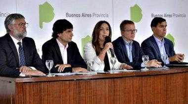 Vidal analiza elevar el tope de reintegro de la promoción en supermercados del Banco Provincia
