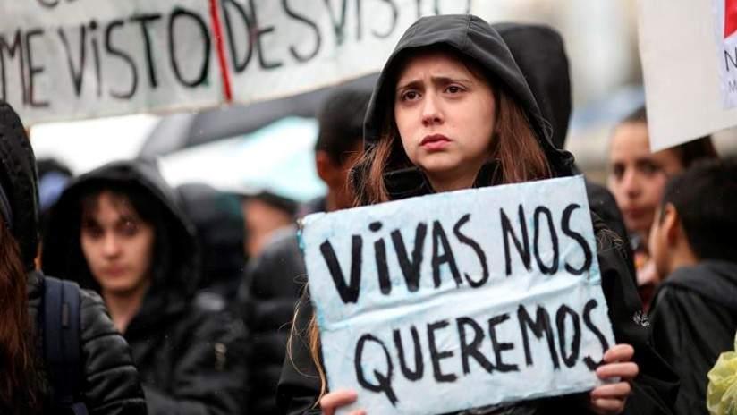 Llevamos 155 femicidios en los primeros 7 meses del 2019 en Argentina