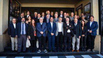 """Rectores y decanos de 21 Universidades nacionales congregados en Escobar por la """"educación del futuro"""""""
