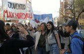 La candidata del Frente de Todos de La Plata, Florencia Saintout fue parte de la marcha recordatoria de La Noche de los Lápices