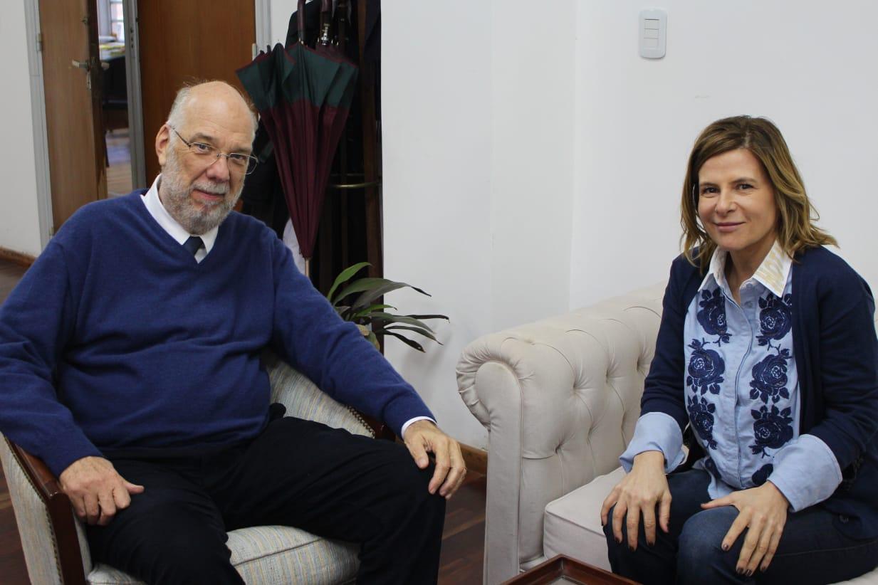 La Plata / Saintout preocupada por la salud del municipio se reunió con el decano de Medicina de la UNLP