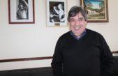 """""""Es fundamental que la Iglesia forme parte del pacto social"""" dijo Cholo García tras el encuentro en Camioneros con el representante del Papa"""