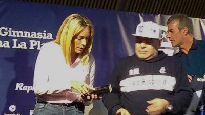 """La """"Puru"""" como la llama Diego, será la nueva manager del fútbol femenino de Gimnasia"""