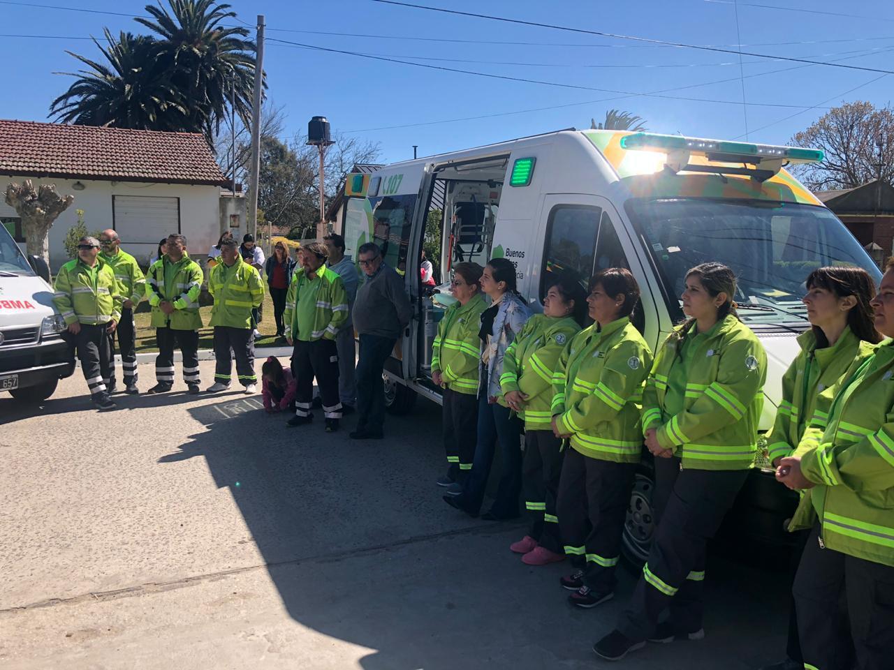 El SAME Provincia se implementó en General Lavalle y ya son 109 los municipios adheridos al servicio