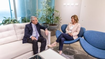 """Saintout se reunió con Alberto: """"Va a ser el presidente que los argentinos necesitamos en este momento"""""""