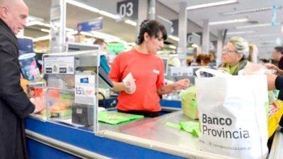 """Se vienen los """"Súper Miércoles"""" de septiembre al 50% en supermercados para clientes del Banco Provincia"""
