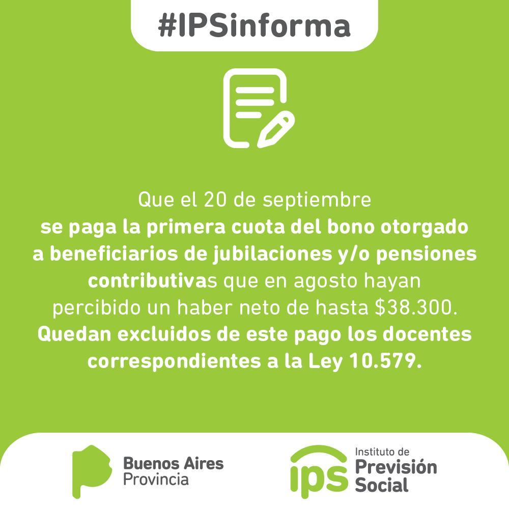 Atención Jubilados y Pensionados: El IPS pagará la primera cuota del bono