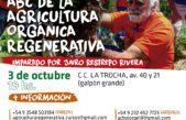 Referente internacional en Agricultura orgánica regenerativa brinda una charla en Mercedes