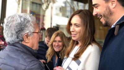 """""""La pelea contra la inflación la tiene que dar el gobierno nacional"""", dijo Vidal en Olavarría"""