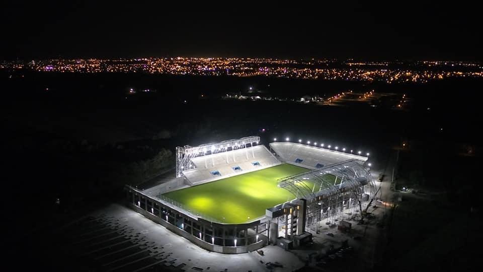 San Nicolás se prepara para la inauguración del flamante Estadio de la ciudad