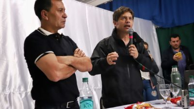 """""""Sé que vas a despertar al monstruo de la Provincia de Buenos Aires"""", le dijo un candidato a intendente a Kicillof"""