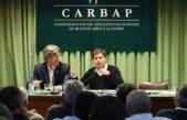 """Con un """"guiño"""" al campo, los candidatos a gobernador participaron de las Agro Jornadas de CARBAP"""
