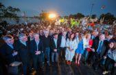 Alberto y Cristina citaron a Perón y criticaron las políticas de Macri en el Día de la Lealtad en La Pampa
