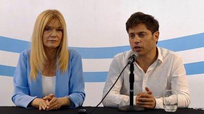 """Kicillof dio una conferencia en La Plata y le pidió a Vidal que """"dé a conocer la situación real de la Provincia"""""""