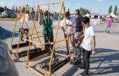 San Nicolás presentó la novedosa modalidad de Skate Adaptado