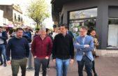 Urtubey, Bucca y Britos recorrieron Junín a un día del acto del #SiSePuede y atacaron a Macri