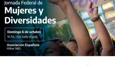 Coronel Suárez espera a Magario, Alvarez Rodríguez y Merquel para la Jornada Federal de Mujeres y Diversidad