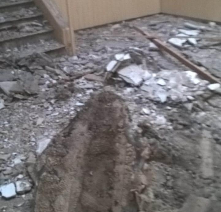 ¡Insólito! Se cayó parte del techo del área de obras en la secretaría de niñez de provincia
