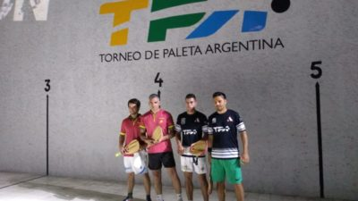 Con estilo europeo se desarrolló el Torneo de Paleta Argentina en Carlos Casares