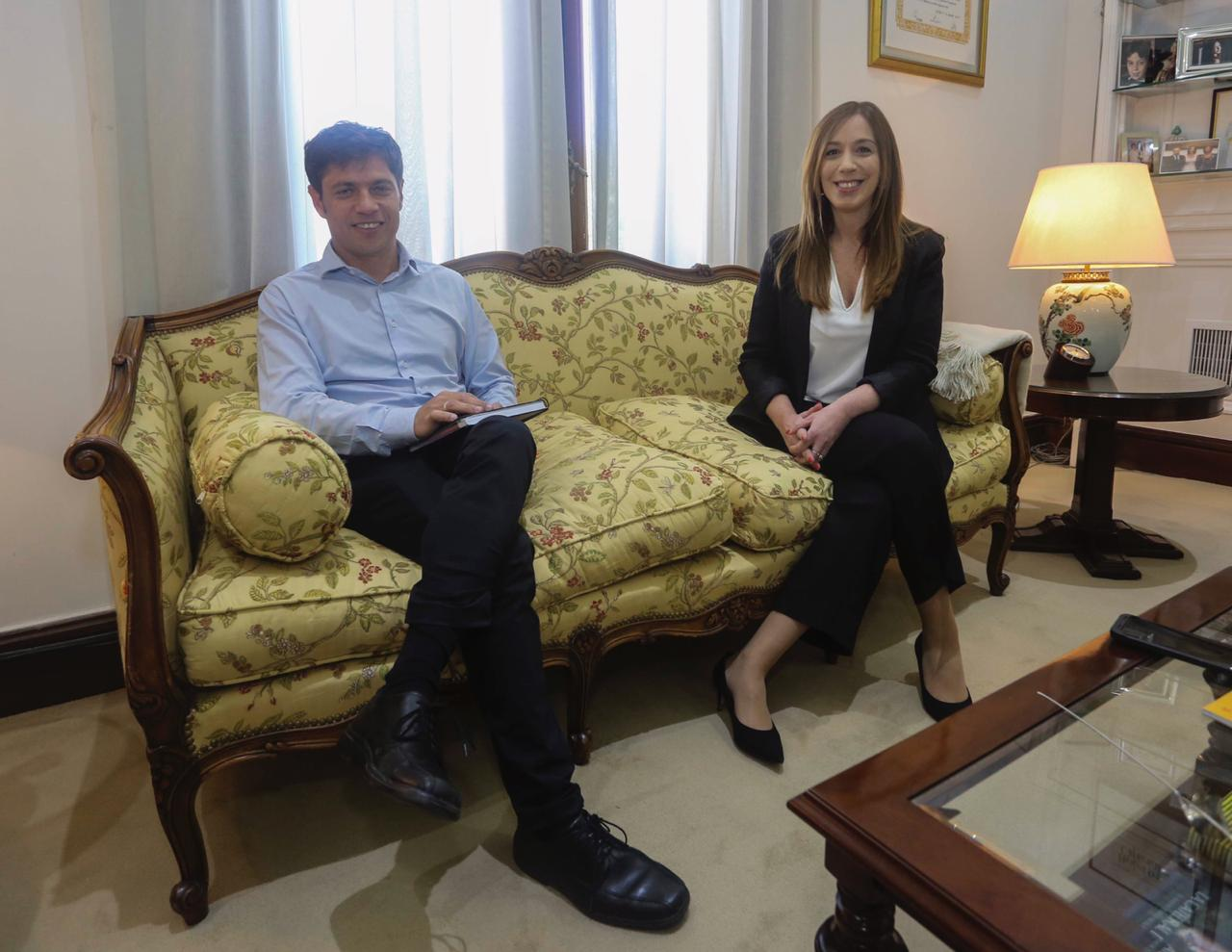 """Kicillof tras la primera reunión con Vidal: """"Le pedí que retrotraiga el aumento tarifario"""""""
