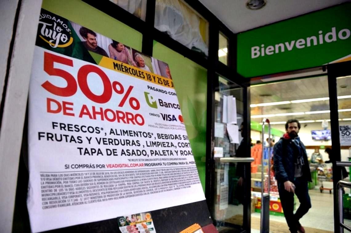 """Llega el segundo """"Súper Miércoles"""" del Banco Provincia en supermercados y podría ser el último"""