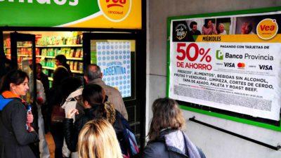 """Se viene el primer """"Súper Miércoles"""" de octubre en supermercados con tarjetas del Banco Provincia"""