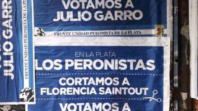 """El PJ La Plata denunció a Julio Garro por """"falsa utilización de los símbolos partidarios"""""""