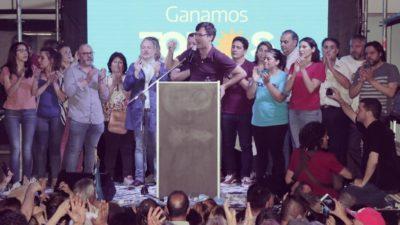 Primera sección: El peronismo conquistó 18 de los 24 municipios