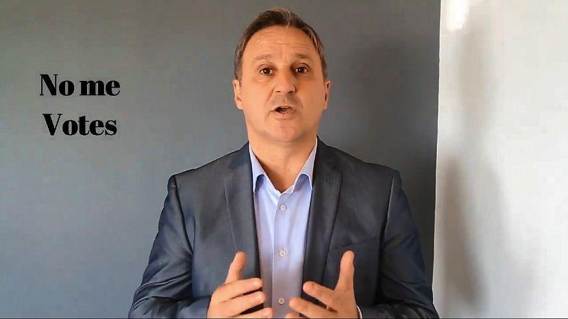 """""""Te pido que no me votes"""": el insólito video del candidato a gobernador de Gómez Centurión que ahora banca a Macri"""
