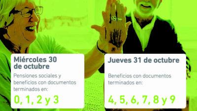 IPS: Este miércoles 30 cobran los jubilados y pensionados los haberes de Octubre
