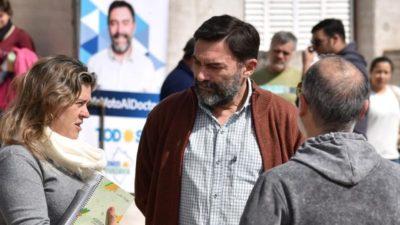 """Rivadavia / """"En 4 años voy a construir 200 viviendas con fondos municipales"""", aseguró Néstor Policano"""