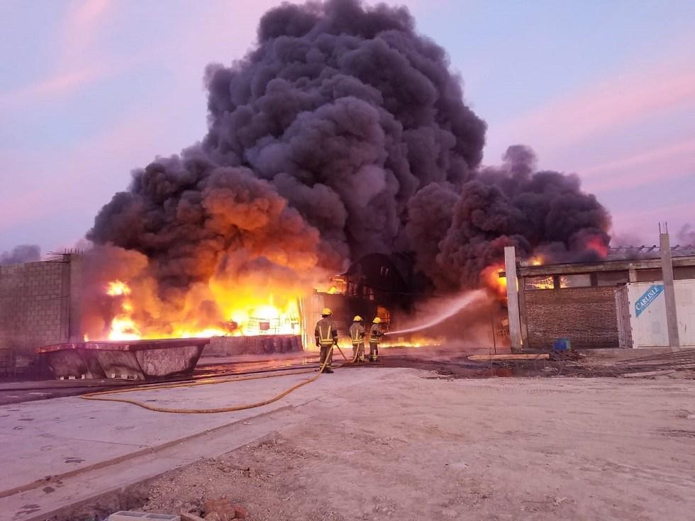 """Nación reconoce que el incendio de SIGMA en Mercedes fue """"grave"""": había biodiesel, glifosato y paraquat"""