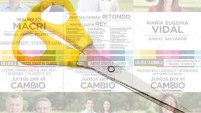 El ranking de los intendentes de Cambiemos que lograron mayores niveles de corte de boleta