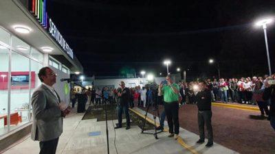 Torchio con fondos propios inauguró un nuevo Servicio de Pediatría del Hospital Municipal de Carlos Casares