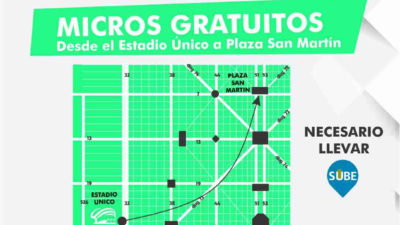 34ENM: Confirman que habrá micros gratuitos del Estadio Único a Plaza San Martín