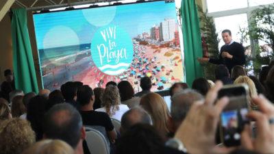 """La costa se prepara para el verano y lanzó el programa """"Viví la playa"""""""