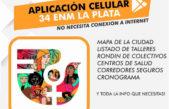 Descargate la APP del 34 Encuentro Nacional de Mujeres y navega sin internet