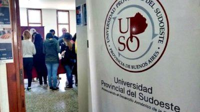 Mayores de 25 años sin el secundario completo pueden inscribirse para estudiar en la UPSO